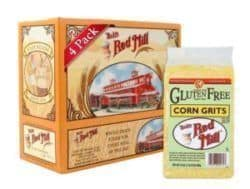 Bobs Red Mill Gluten Free Corn Grits Polenta 24 ounce 4 pack