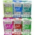 PUR Gum 6 Flavor Assortment Spearmint, Peppermint, Pomegranate Mint, Wintergreen, Cinnamon, Coolmint