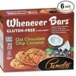 Pamela's Products Gluten Free Whenever Bars, Oat Chocolate Chip Coconut