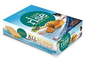 Protein Rise Bars Almond Honey Gluten Free 12 pack