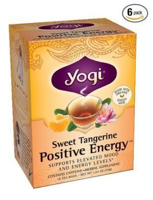 Yogi Sweet Tangerine Positive Energy
