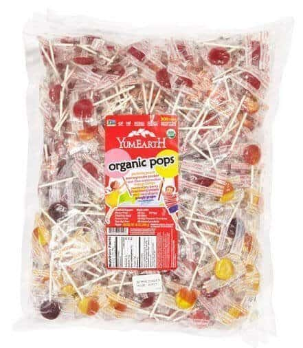 YumEarth Organic Lollipops, 5 Pound Bag